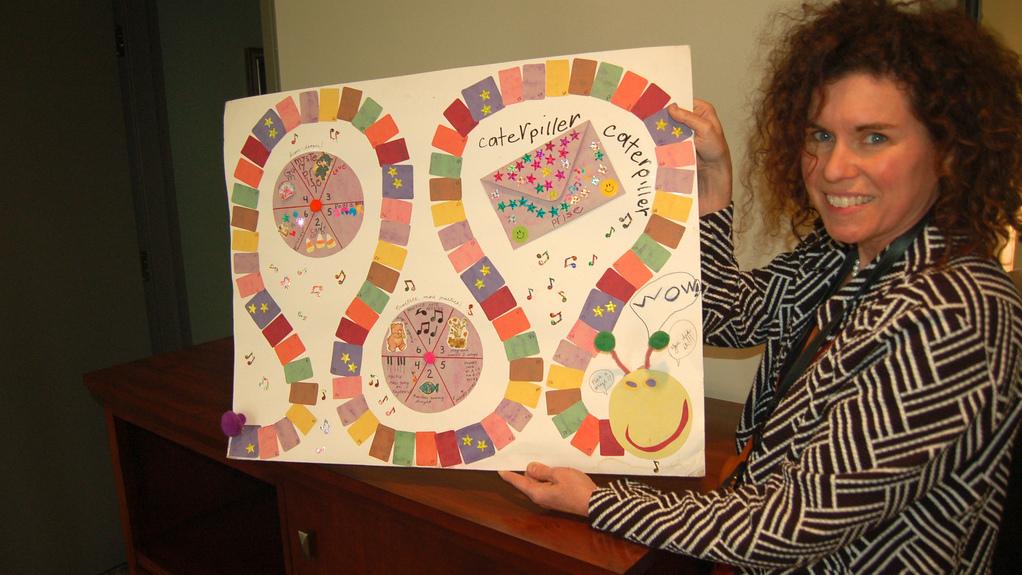 La madre de Eva Kennedy muestra su juego casero de práctica