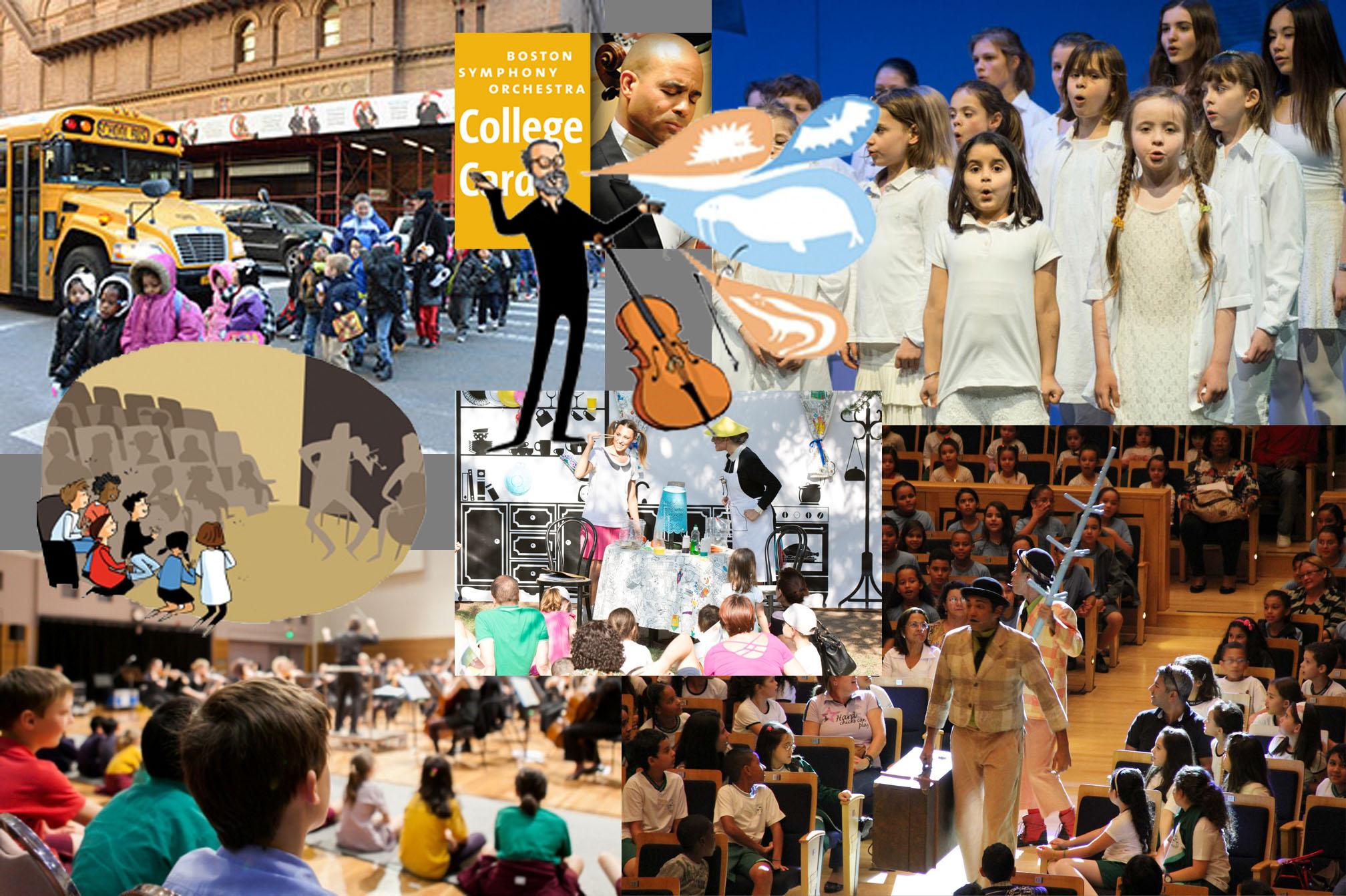 Programas educativos en Ópera, Orquestas y Teatros